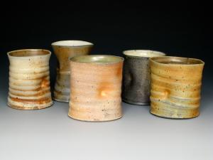 Five Soda Cups