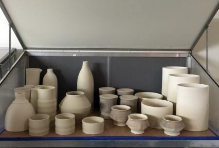 pots in dampbox
